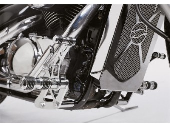 Fußrastenalage Falcon Round Style Suzuki VL 800
