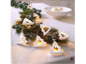 LED Lichterketten Tannbäumchen