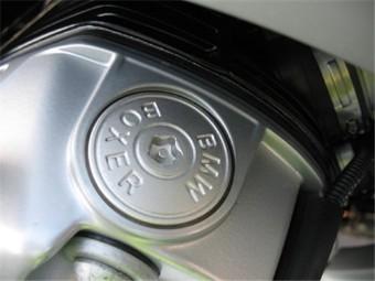 Öleinfülldeckel Alu BMW Boxer mit Torxschlüssel.