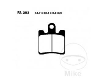 Bremsbeläge EBC Carbon Typ> SFAC 283/4
