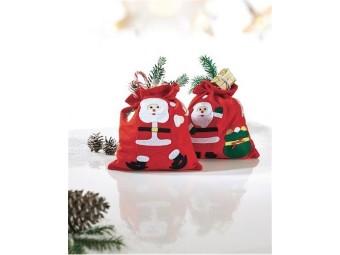 Weihnachtbeutel Happy Santa