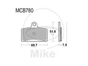 Bremsbeläge Lucas TRW-Moto Typ > MCB780