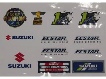 MotoGP2020 Champion Stickerset