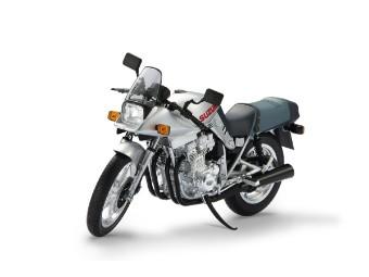 GSX 1100 S Katana Motorrad Modell aus Metall