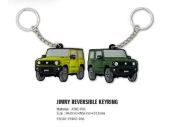 Schlüsselanhänger Jimny zweiseitig