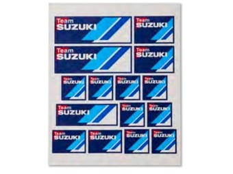 Team Suzuki Sticker