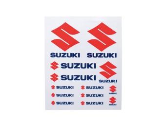 Stickerbogen - Suzuki