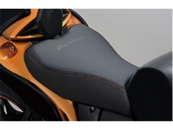 Sitzbank mit rote Nähte GSX 1300 R Hayabusa