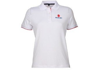 Team weiss - Polo Shirt Damen