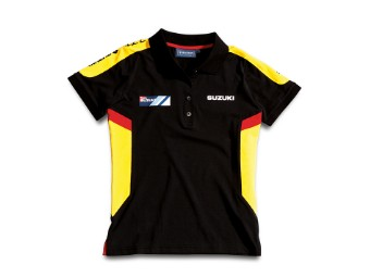 Team Polo Shirt Damen Yellow