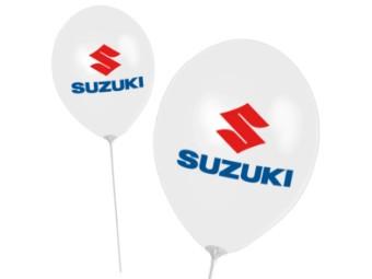 Luftballon Suzuki 10 Stück Beutel
