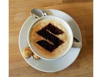 Cappuccino & Kuchenschablone