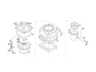 Kolben RS 125 2-Ring