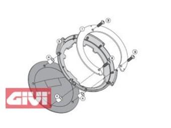 Tanklock Tankbefestigungsring für T ankrucksäcke Aprilia - Triumph