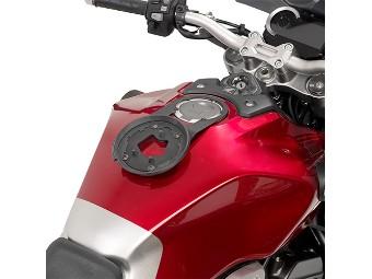 Tanklock Tankbefestigungsring für Tankrucksäcke Honda CB 1000 R