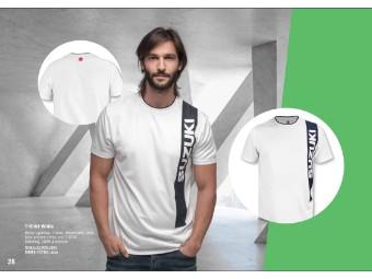 Fashion T-Shirt Herren Weiß