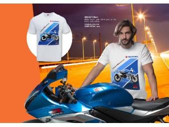GSX-R T-Shirt Herren Weiß