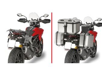 Seitenkoffer-Träger Stahlrohr Ducati Hyperstrada 939 Bj.16