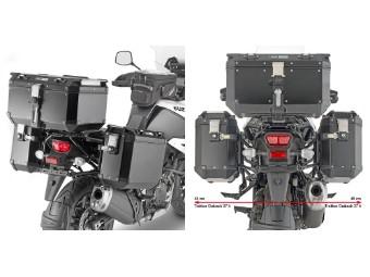 Seitenkoffer-Träger One-Fit Monkey Koffer an DL 1050 V-Strom
