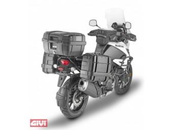 Seitenkoffer Grundträger One-Fit Monokey für Suzuki DL 1050