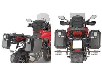 Seitenkoffer-Träger Abnehmbar Monokey für Ducati Multistrada 1260
