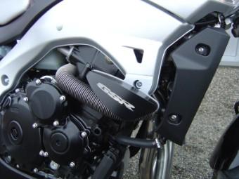 Sturzpads Suzuki GSR 600 `06-13 mit Schriftzug