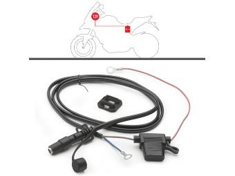 Universal-Kabelsatz für Batterie-An schluss 12V mit Sicherung
