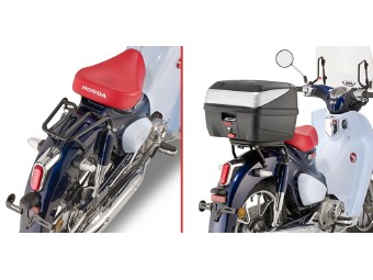 Topcase Träger Monolock Koffer ohne Platte Honda Super Cub