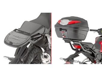 Topcase Träger für Monolock Koffer o.Platte für Honda CB125/300R