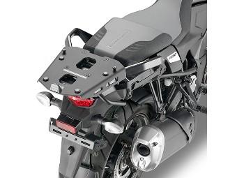 Topcase-Träger Aluminium für Monokey Koffer an DL 1050 V-Strom