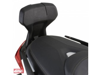 Beifahrer Rückenlehne X-Max 400 nicht mit Topcase-Träger montierbar