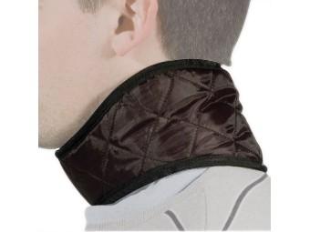 Halsswärmer aus Samt mit Klett verschluß