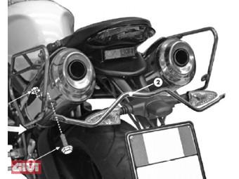 Satteltaschen Abstandshalter Triump f Speed Triple 675 `07-12