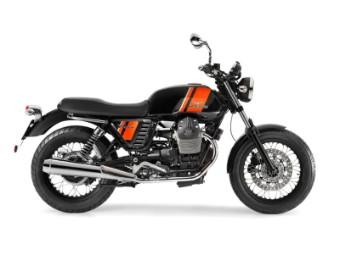 Satteltaschen Abstandshalter Moto Guzzi V7 750 `12-