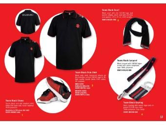Team Black Polo Shirt Damen