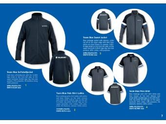 Team Blue Polo Shirt Herren