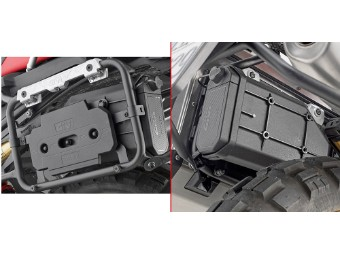 Anbaukit S250-Toolbox an PLR5127CAM Träger für BMW F 750/850 GS