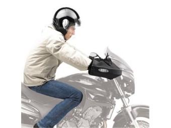 Handschutzwärmer für Fahrzeuge mit Lenker- und Spiegel