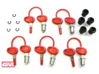 Gleichsperrendes-Schloss-Set 5-fach für E21,E260,E350,E360,E41,