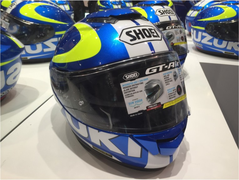 99000-79N12-C1L-L, Shoei GT-AIR Suzuki Moto GP