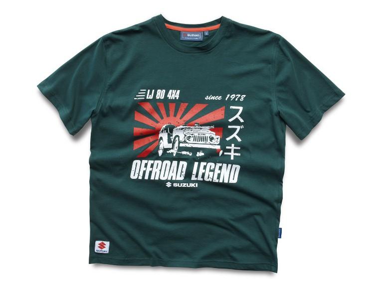 990F0-HTS10-00L, Suzuki T-Shirt LJ 80 `13
