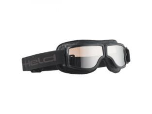 Motorradbrille Held silber