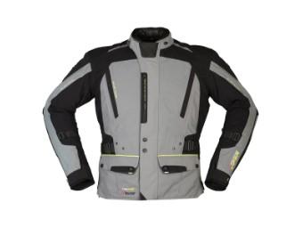 2-Lagen Laminatjacke Modeka Viper LT schwarz-grau