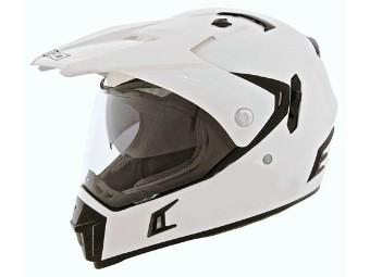Endurohelm SHIRO MX311 white