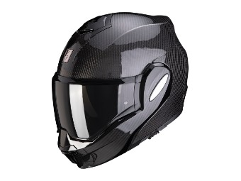 Klapphelm Scorpion EXO-TECH Carbon Solid schwarz