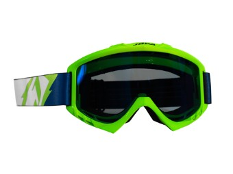 MX-Crossbrille Poison neon-green