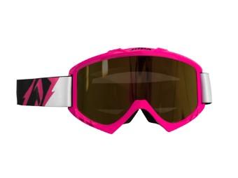 MX-Crossbrille POISON Neon Pink