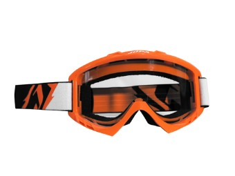 MX-Crossbrille POISON orange
