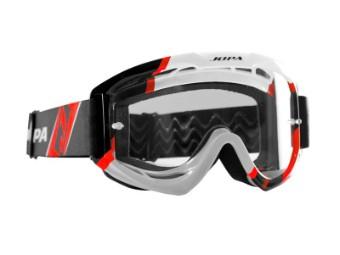 Crossbrille Venom II Black-White-Red