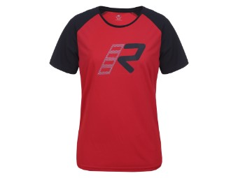 Damenfunktionsshirt Rukka Svega black-red